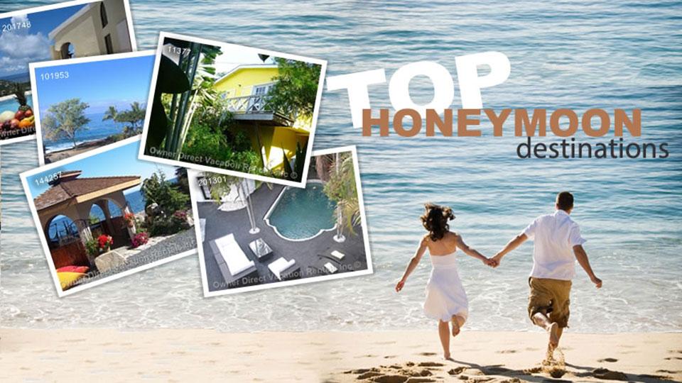 Top honeymoon destinations