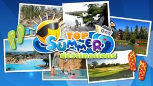 Top 10 Summer Destinations for 2013
