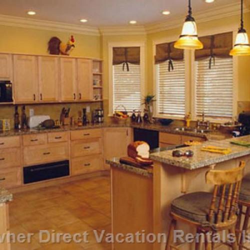 Best vacation rental kitchens