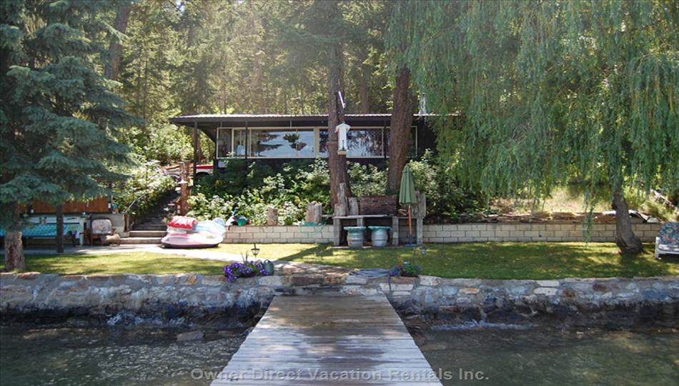 Gorgeous Kalamalka Lakefront Cabin. #115480
