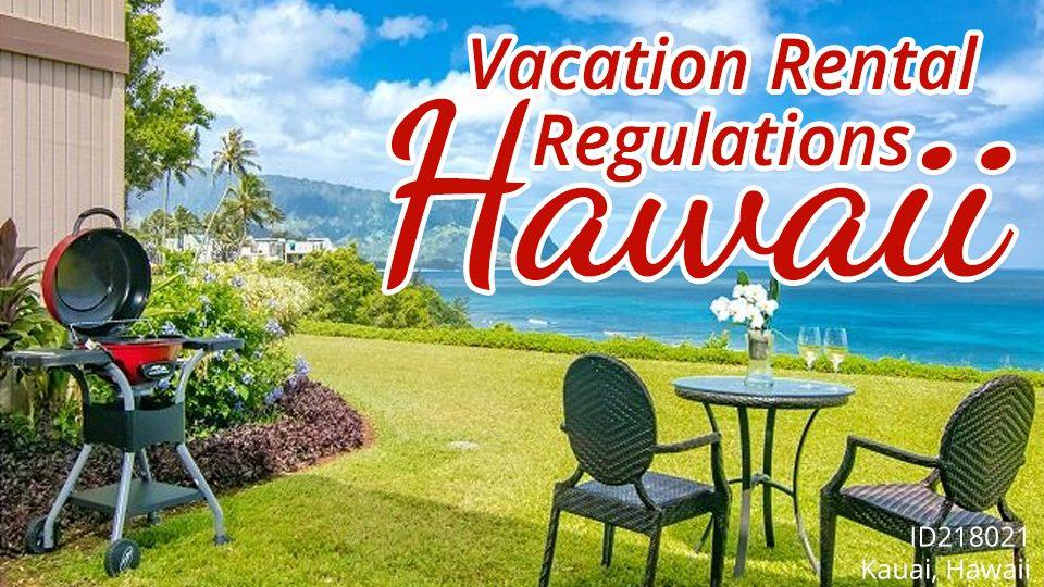 Vacation Rental Regulations Hawaii