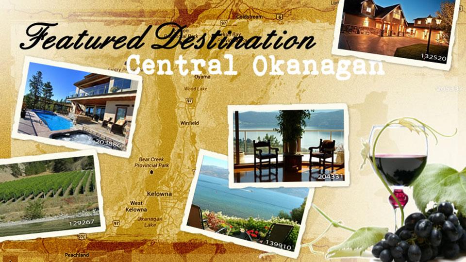 Featured destination: Central Okanagan