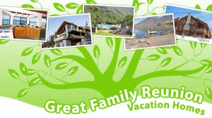 Great family reunion vacation homes
