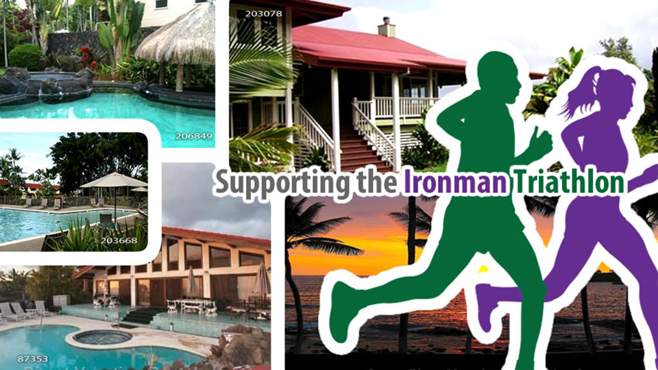 Supporting the Ironman Triathalon