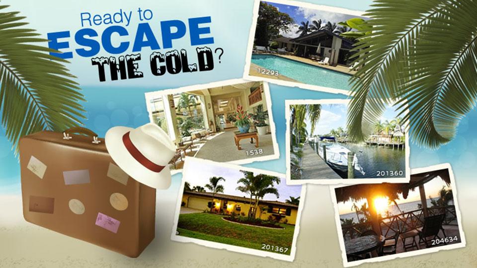 Ready to escape the cold?
