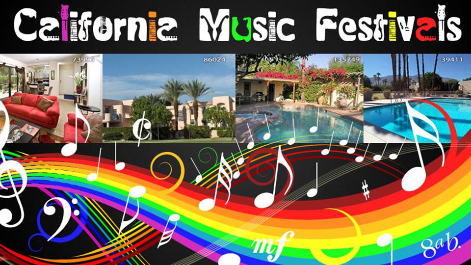 alifornia Music Festivals