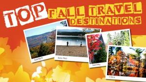 Top fall travel destinations