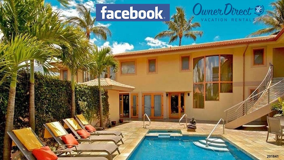 Use Facebook to promote your vacation rental