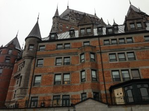Fairmont's Chateau Frontenac Hotel, Exploring Quebec without speaking French