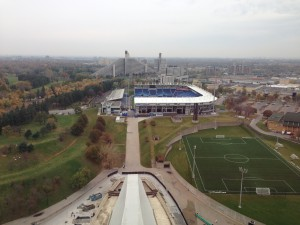 Parc Olympique, Exploring Quebec without speaking French