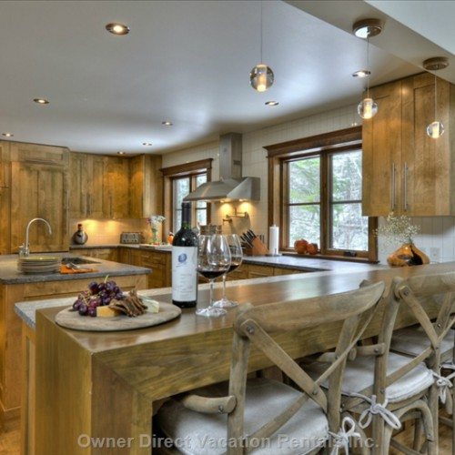Best vacation rental kitchens