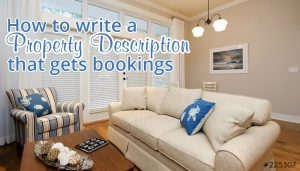 How to write a property description that gets bookings