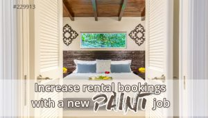 Increase your vacation rental bookings with a new paint job