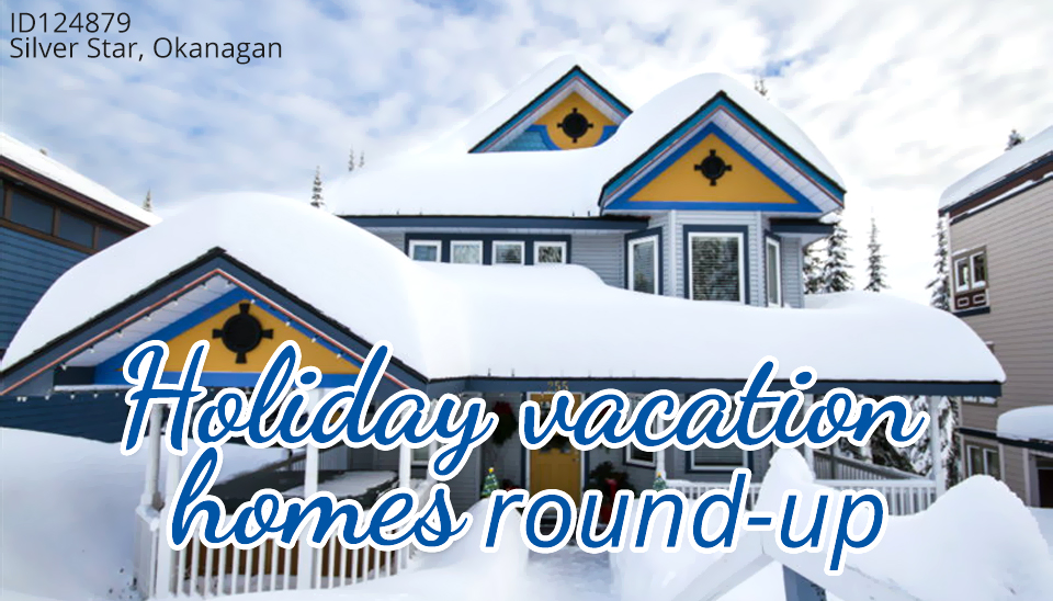 Holiday vacation homes round up