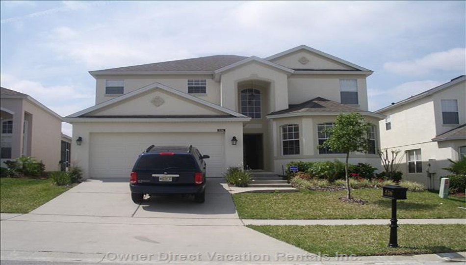 Bright and Open Florida Villa. #66209