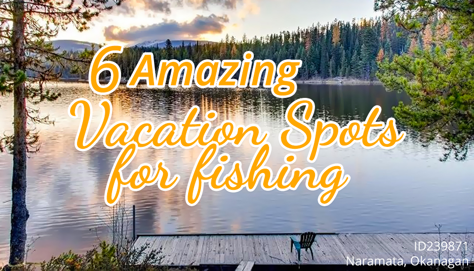 6 Amazing Vacation Spots for Fishing