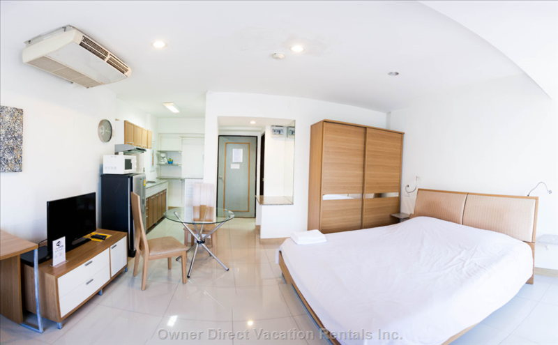 Chiang Mai serviced apartment in a complex, ID#202360