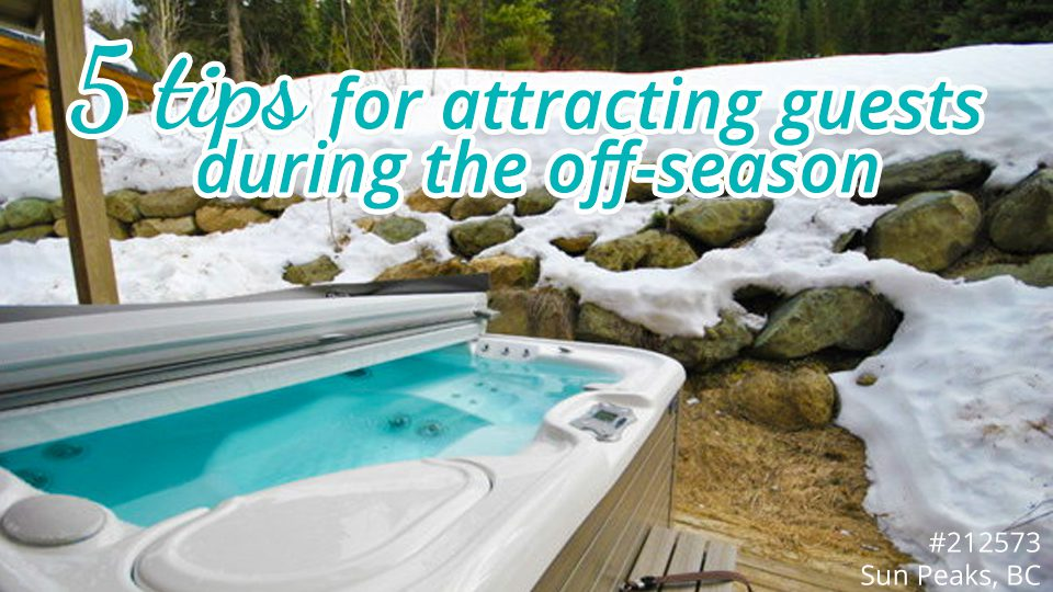 5 tips for attracting guests during the off-season