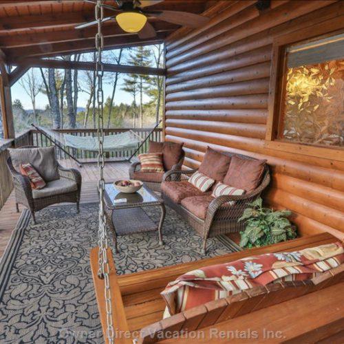 Cabin for rent in the beautiful mountain area of Blue Ridge, Georgia
