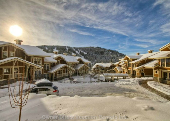 Aside from ski-in/ski-out access, this home is close to the village and next to the chair lift / 205480