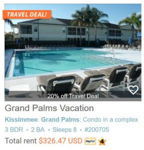 Grand Palms Vacation Resort - 3 Bedroom, 2 Bath Vacation Getaway!!! #200705