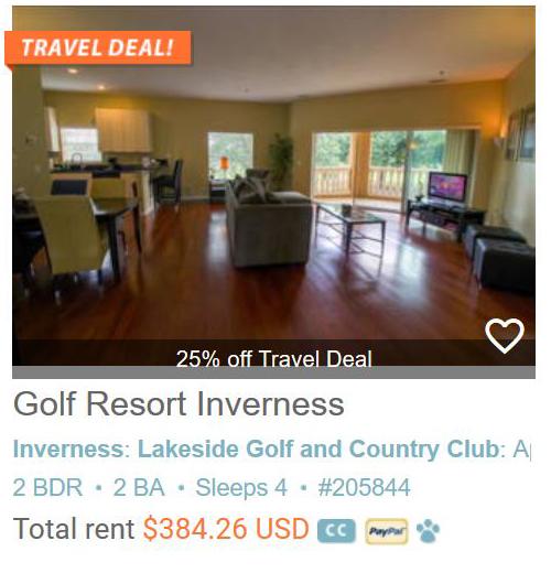 Golf Resort Inverness Condominium at Hole 18 #205844