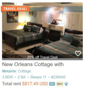 New Orleans Cottage with Limo Service to and from the Airport! #239405