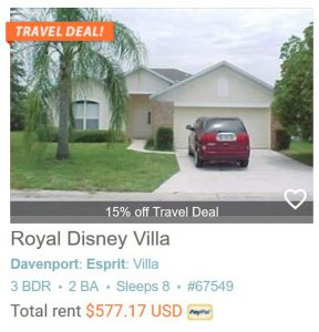 Royal Disney Villa #67549