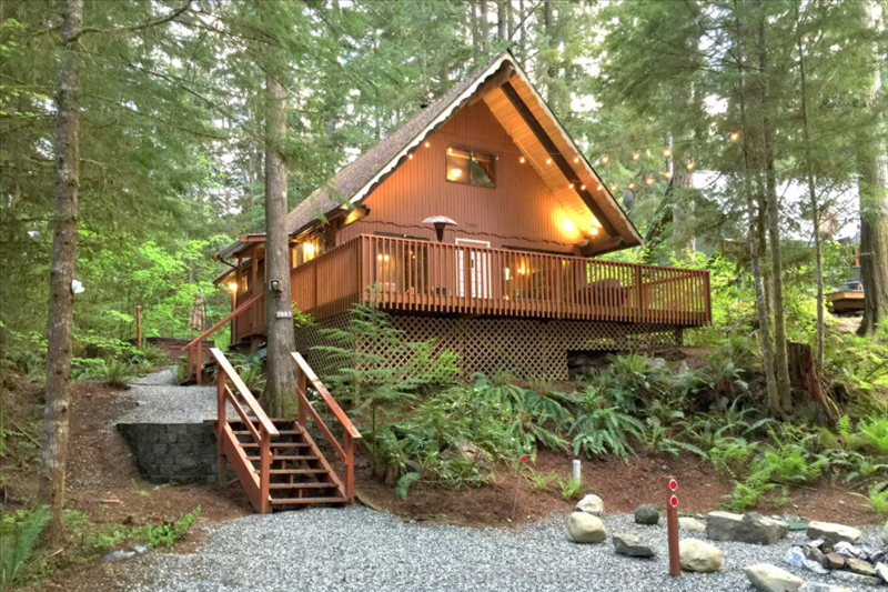 A cozy pet friendly cabin in the woods in Glacier, WA #224242