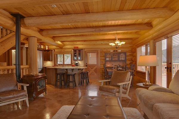 Gorgeous, Rustic Log Chalet in Sun Peaks, BC #254980